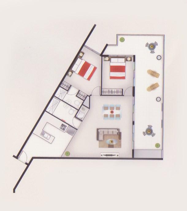Unit Apartment 40 31 Ramsgate St Qut Accommodation